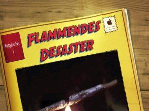 Flammendes Desaster